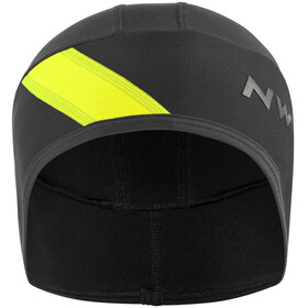 Northwave Fahrenheit Headcover black/yellowfluo
